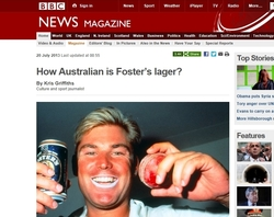 BBC Foster's Lager, Kris Griffiths