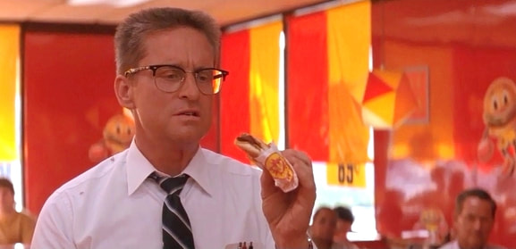 Michael Douglas in Falling Down